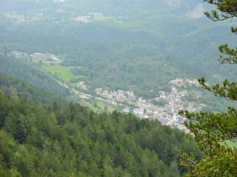 Panorama verso San Giorgio