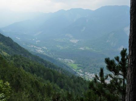 Panorama verso la val Resia