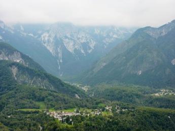 Panorama verso Oseacco