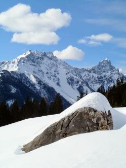 Panorama verso monte Chiadin e monte Lastronis