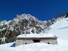 Casera Siera di Sopra e monte Siera
