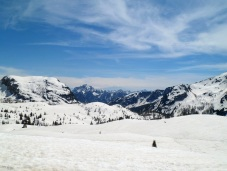 Panorama verso le Giulie