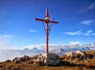 Croce di vetta del Raut