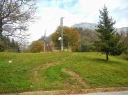Partenza del sentiero CAI 967 da forcella Pala Barzana
