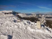 La vetta del monte Acomizza.