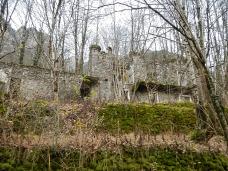 Il vecchio borgo di Frassaneit di Sotto.