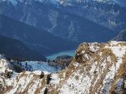 Il lago di sauris.