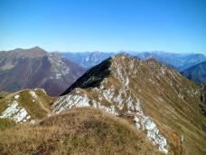 Cuesta Spioleit dal monte Sciara