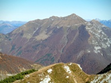Monte Verzegnis dal monte Sciara
