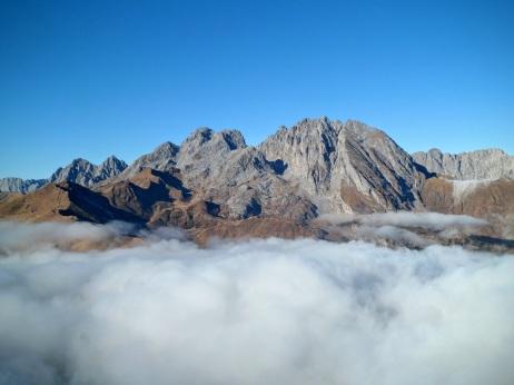 Monte Coglians dal Cimone di Crasulina