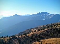 Panorama dalla pista del Monte Tenchia