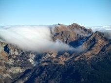 Nuvole su Casera Pramosio