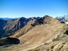 Panorama dallo Zoufplan verso Cimone di Crasulina (a destra)