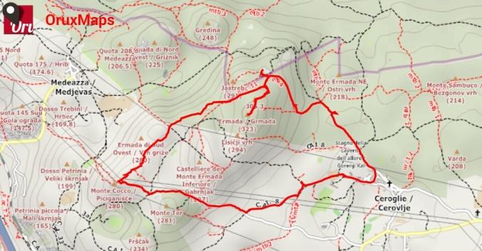 Mappa Ermada