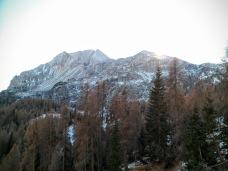 Da sinistra Monte Bivera e Monte Clapsavon
