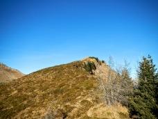 La cresta del Col San Giacomo