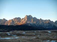 Monte Brentoni al tramonto