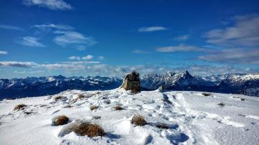 La vetta del Monte Valsecca.
