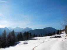 Panorama dalla Conca di Pricot