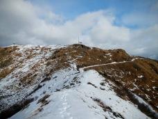 Verso il Monte Tenchia.