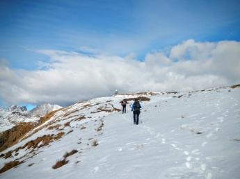 Verso il Monte Zoufplan.