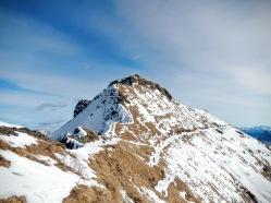 La cresta ovest del Cimone di Crasulina.