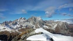 Il massiccio del Monte Coglians.