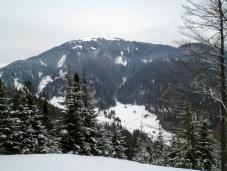 Panorama verso la Val Rauna e il Monte Cocco