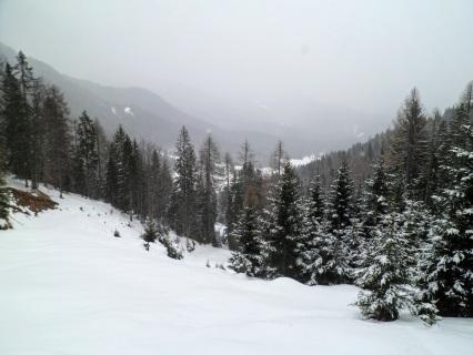 Panorama verso la Val Rauna