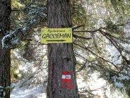 Si sale verso la piana di Gacceman