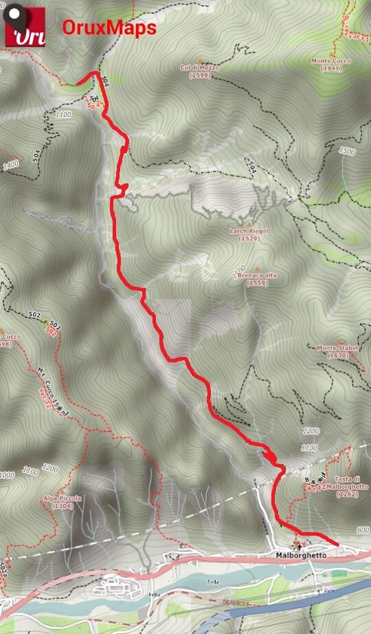 ciurciule_mappa
