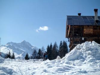 Monte Bivera e Rifugio Eimblatribn