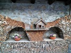 Creazioni in legno a Sauris di Sotto