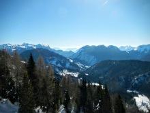 Panorama verso Sauris di Sotto