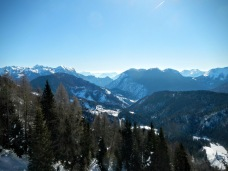 Panorama verso Sauris di Sotto