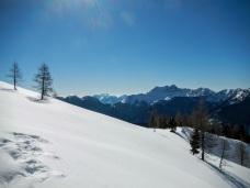 Panorama verso il monte Tinisa