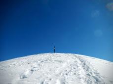Croce di vetta del monte Morgenleit