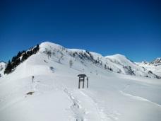 La dorsale Monte Festons-Monte Oberkofel
