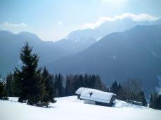 Panorama verso Monte Tinisa