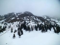 Pendici meridionali del monte Tersadia