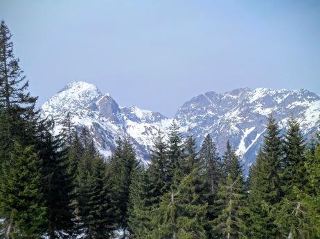 Panorama verso la valle Valentina