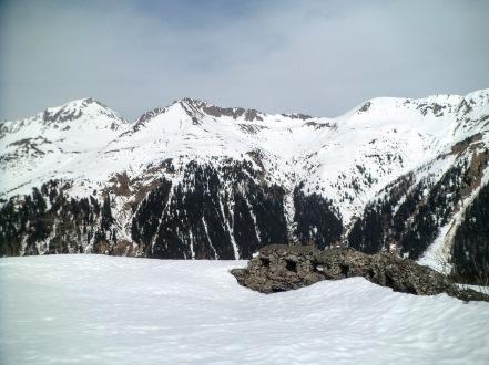 Panorama verso il Polinik