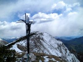 Sulla cresta del monte Sciara