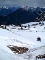 Monte Piombada in primo piano