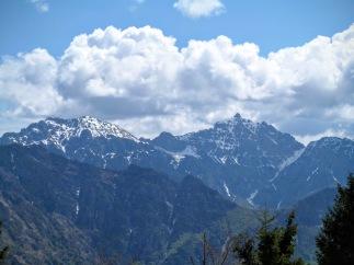 Panorama verso Chiavals e Zuc dal Bor