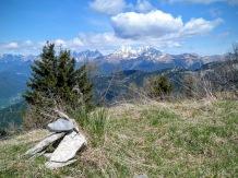 Coglians dalla cima del monte Tribil