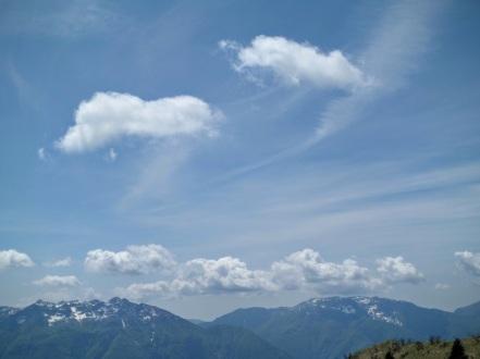 Panorama verso il monti Verzegnis e Valcalda