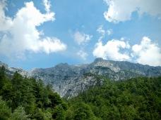 Monte Chiavals dalla valle