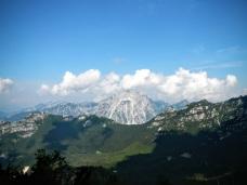 Creta Grauzaria e Sernio dal sentiero CAI 428a