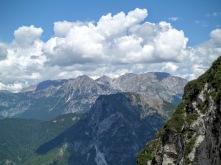 Panorama verso monte Cavallo di Pontebba